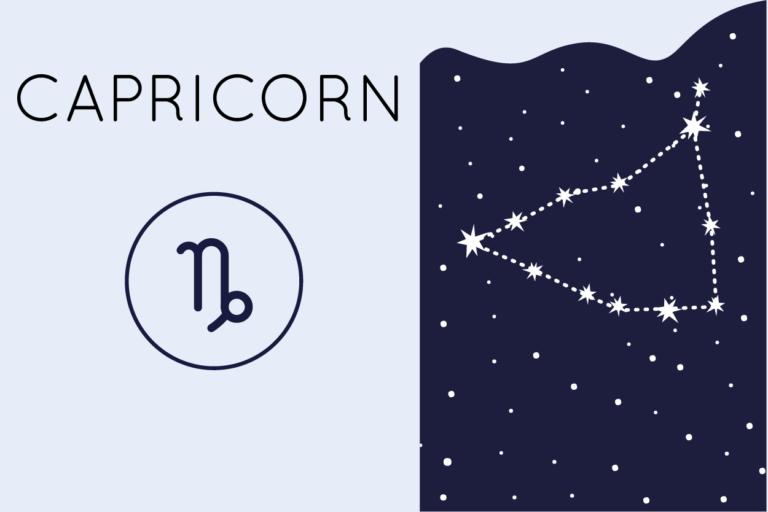 La Luna, el Sol, y algunos aspectos no tan positivos de un Capricornio